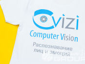 Белые футболки с логотипом «Civizi»