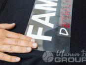 Черные рубашки-поло с надписью «FAMO detaling»
