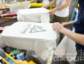 Белые свитшоты с логотипом «ДИГОРИЯ»