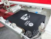 Черные футболки с картинкой и логотипом «АВТОРАНС-М»