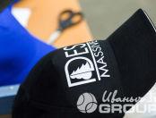Черные бейсболки с логотипом «DESMASSIVE»