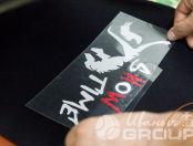 Черные толстовки с лого «Show Time»