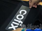 Черные футболки с логотипом «COFIX»