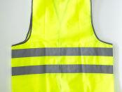 Сигнальные жилеты с логотипом «GS групп»