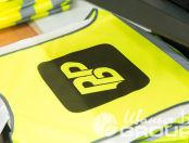 Желтые сигнальные жилеты с логотипом «РБР»