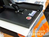 Оранжевые сигнальные жилеты с надписью «Новые технологии 67»