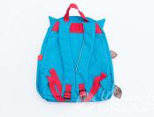 Голубые детские рюкзаки в виде совы с логотипом «Лучше всех»