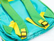 Зеленые детские рюкзаки в виде хамелеона с логотипом «Лучше всех»