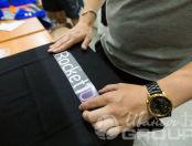 Черные футболки с логотипом «ROCKET10»