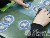 Печать логотипа и надписи cudo-club