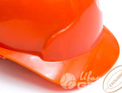 Оранжевые пластиковые каски с логотипом «Technologies of Skies»