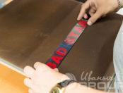 Черные ленты с надписью «BAD STAR»