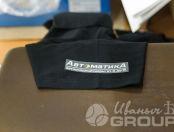 Черные футболки-поло с логотипом «АВТОМАТИКА»