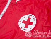 Ветровка с логотипом «КРАСНЫЙ КРЕСТ»