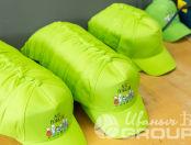Зеленые бейсболки с изображением «ЛЕС ПОБЕДЫ»