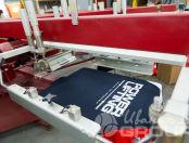 Многоцветные футболки с логотиплм «Power lifting»