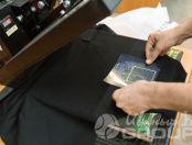 Черные фартуки с логотипом «Caicos»