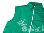 Утепленный жилет с логотипом «Субботник»