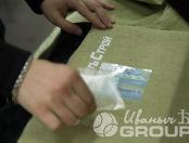 Оливковая спецодежда с лого «ПодземСетьСтрой»