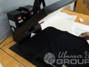 Черные футболки с логотипом «Barber»