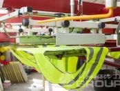 Желтые сигнальные жилеты с надписью «СтройМода»