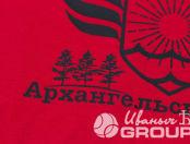 Футболка с логотипом «Архангельский округ»