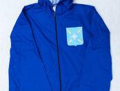 Синие ветровки с логотипом «Находка»