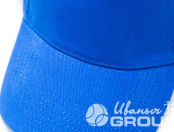 Синие бейсболки с надписью «МИР один для всех»