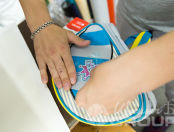 Серо-голубые детские рюкзаки в виде енота с логотипом «Лучше всех»
