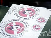 Печать логотипов дайвинг-клуба