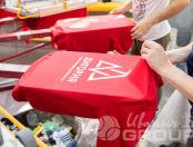Красныхе свитшоты с логотипом «ДИГОРИЯ»
