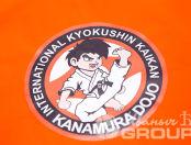 Футболки с логотипом «KYOKUSHIN KAIKAN»