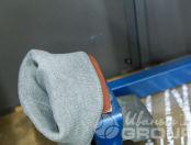 Серые шапки с логотипом «ЕДА В СТАКАНЕ»