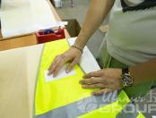 Желтые жилеты с логотипом «Безопасность»