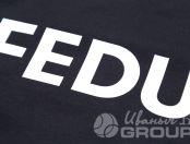 Черные свитшоты с надписью «feduk»