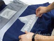 Двухцветные теплые жилеты с логотипом «ЛЕМАКС»
