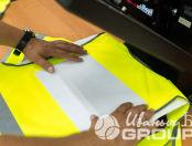 Желтые сигнальные жилеты с надписью «ПСК Смарт»