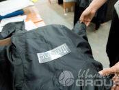 Черные куртки с текстом «Лимана»