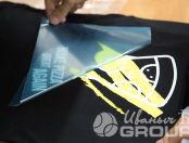 Черные и серые футболки с логотип «Гетобед»