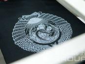 Черные футболки с логотипом «СССР»