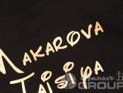 Черные толстовки с лого «ТК
