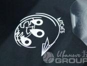 Черные футболки с логотипом «НА СВЯЗИ»