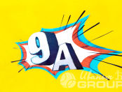 Футболки с надписью «9 А»