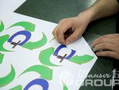 Печать логотипа