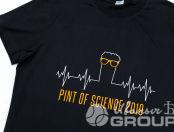 Футболки с принтом «PINT OF SCIENCE»