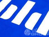 Синие фартуки с логотипом «bld»
