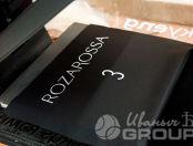 Черный крой с логотипом «ROZA ROSSA»