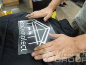Черных жилеты с логотипом «Eco complect»