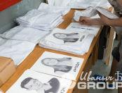 Белая футболка-поло с надписью и фото «#сын»