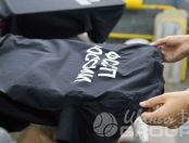 Черные футболки с надписью «ФССП РОССИИ»